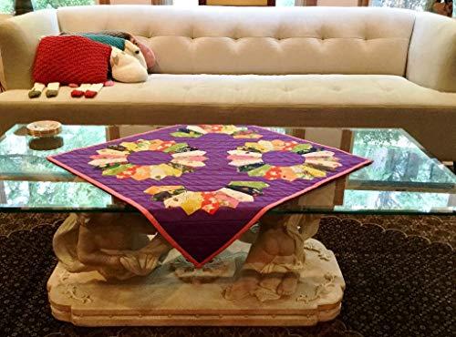 Table-top Dresden Petals Quilt