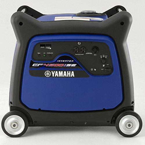 Engine Standard Yamaha (Yamaha EF4500iSE, 4000 Running Watts/4500 Starting Watts, Gas Powered Portable Inverter)