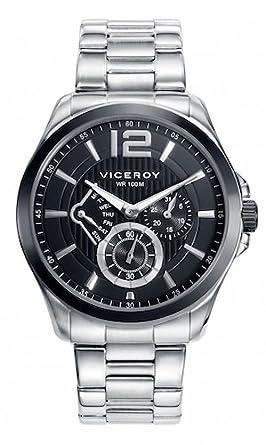 Amazon.com: Reloj Viceroy 46679 – 53 multifunción de acero ...