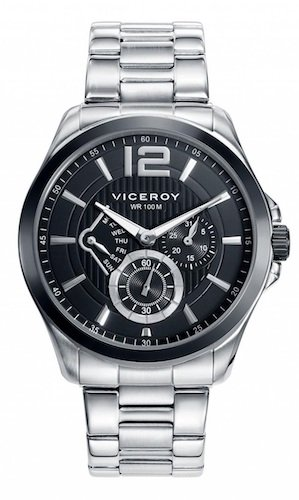 Reloj Multifunction Black 53 Viceroy 46679 Steel Man xBoeCrd