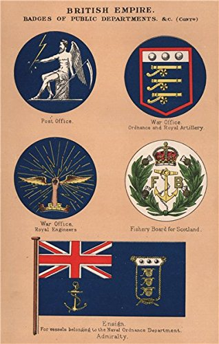 Amazon com: BRITISH FLAGS  Post Office  War Office  Scotland
