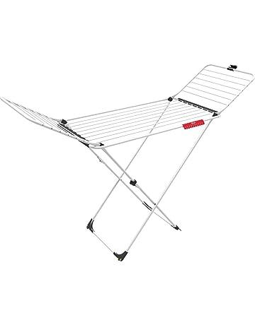 Vileda Extra Tendedero X-legs de acero y aluminio, con alas plegables, 20