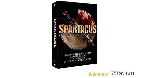 Pack Spartacus: Dioses De La Arena + Sangre Y Arena + Venganza + La Guerra De Los Condenados: Amazon.es: Cine y Series TV