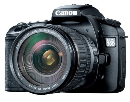 Canon EOS 30D DSLR Camera with EF 28-135mm f/3.5-5.6 IS USM Standard Zoom Lens (OLD - Monitor Inch 2.5 Zoom Lcd