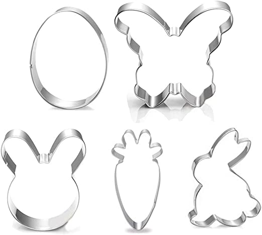 """Child Ghost Cookie Cutter 2/""""//3/""""//4/""""//5/"""" Size 1/"""" Deep"""