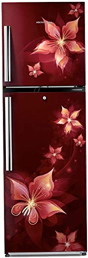 Voltas Beko 251 L 2 Star Frost Free Double Door Refrigerator (Emeria Red) (2020) RFF2753ERE