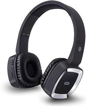 Auriculares Bluetooth InaláMbricos Auriculares Cuadrados Plegables Auriculares EstéReo con Cable para Tarjetas De Modo con MicróFono MóVil/PC/Tableta/Deportes/TV,Black: Amazon.es: Deportes y aire libre