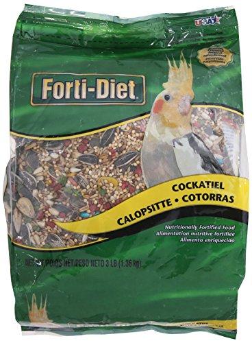 Kaytee KY54711 Forti-Diet Alimento para Cockatiel, 3 Libras