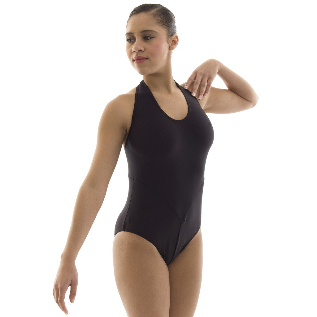 Child/'s Nylon Lycra One Shoulder Sleeveless Skirted Leotard-LUCY Dance Gear