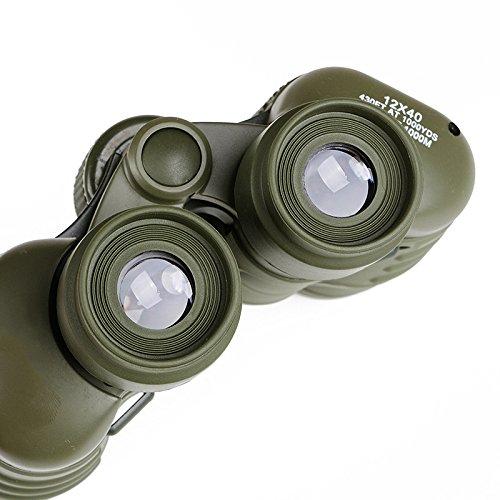 PLLP 12X40 Hd Binoculars High Power Night Vision Outdoor Travel Adult Telescope,Photo Color