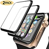YJan Apple Watch Screen Protector [2-Pack] 40mm New Flexible Clear Anti-Smudge Anti-Scratch Bubble-Free PET Film Easy Install Protector for Apple Watch 40mm Series4