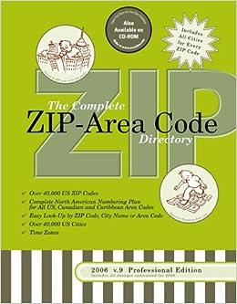 20067 Complete US ZIPArea Code Directory 3Way Easy Lookup for
