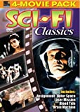 Sci-Fi Classics: Assignment Outer Space; Laser Mission; Blood Tide; Brain Machine [4-Movie Pack]