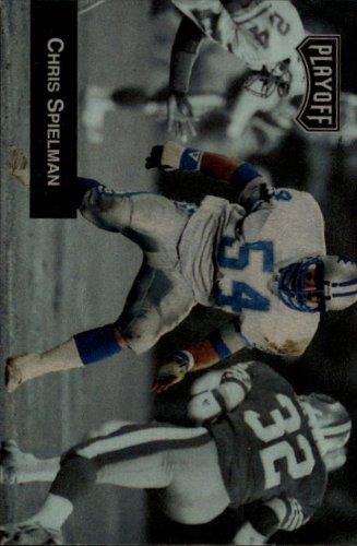 1993 Playoff Football Card #148 Chris Spielman from Playoff Football Card