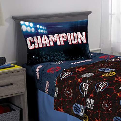 WWE Wrestling Kids Twin Bedding Sheet Set (Bedding Wwe Twin Size)