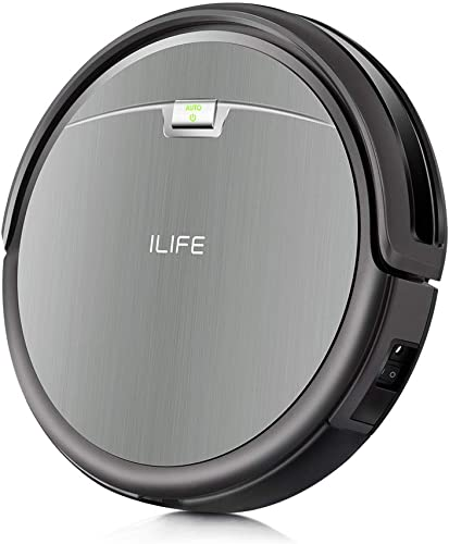 ILIFE A4s Robot Vacuum Cleaner with Max Power Suction, Up to 120mins Run time, For Hard Floors and thin Carpets