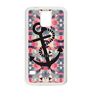 taoyix diy Nymeria 19 Customized Anchor Infinity Diy Design For Samsung Galaxy S5 Hard Back Cover Case DE-64