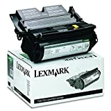 Lexmark 12A6830 Toner, 7500 Page-Yield, Black