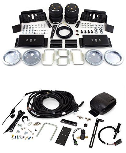 Air Lift 57298/25490 Set of Rear Load Lifter 5000 Series w/Smart Air II Single Path Automatic Self Leveling System Kit for Ford F-250/F-350/FX4 Super Duty Pickup
