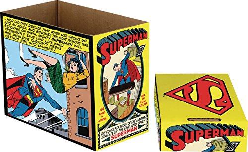 (Superman Short Comic Storage Box)