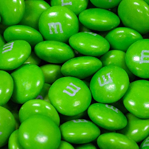 Green M&Ms Candy 2lb - Milk -