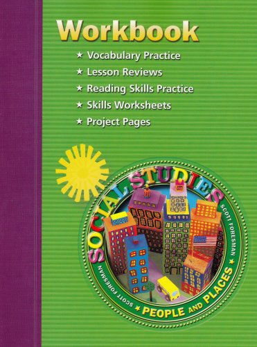 Scott Foresmen Social Studies Workbook, Grade 2