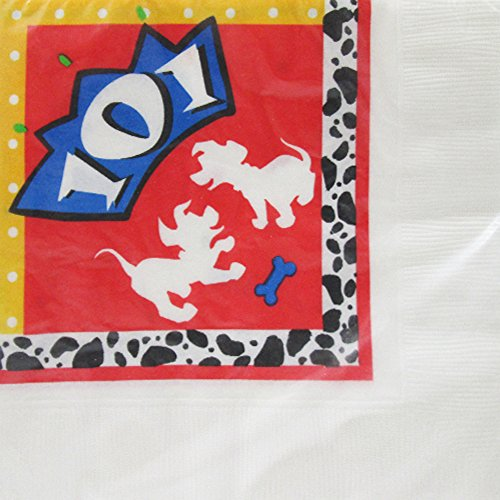 101 Dalmatians Small Napkins (101 Dalmatians Party Supplies)