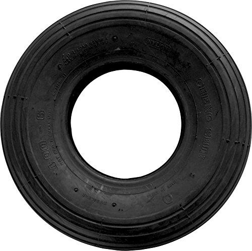 Shepherd Hardware 3338 4.80/4.00x8-Inch Wheelbarrow Replacement Tire, 16-Inch, Ribbed Tread by Shepherd Hardware