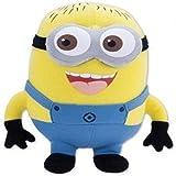 Generic Minions Stuart Plush Soft Toy-Multicolor, 12 Inch
