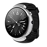 TONGTONG Smart Watch 1.39 Inch Android 7.0 4G Smart Watch 580mAh+720mAh Battery 2.0MP Camera Heart Rate Monitor