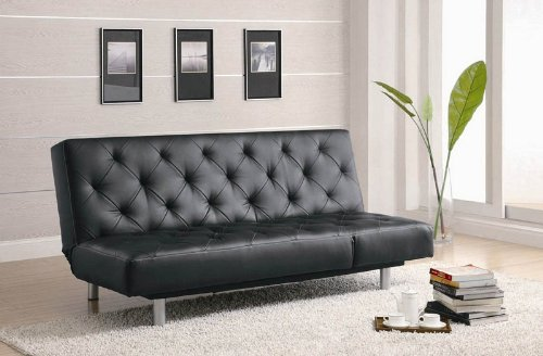 coaster-sofa-black
