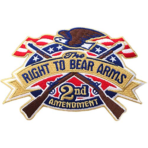 RIGHT TO BEAR ARMS - 2nd AMENDMENT - US Flag 3.5