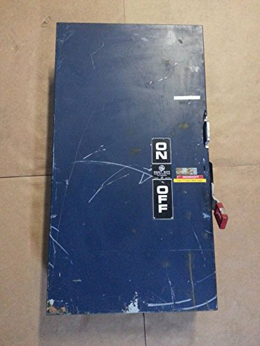 Safety Switch 400 Amp (GE General Electric Safety Disconnect Switch THN3365 400 Amp Mod 7 600V 400A)