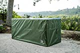 YardStash Deck Box Cover XXL to Protect Extra Wide Deck Boxes: Keter Westwood Deck Box Cover, Keter Rockwood Deck Box Cover, Keter Brightwood Deck Box Cover, Keter Sumatra Deck Box Cover & More