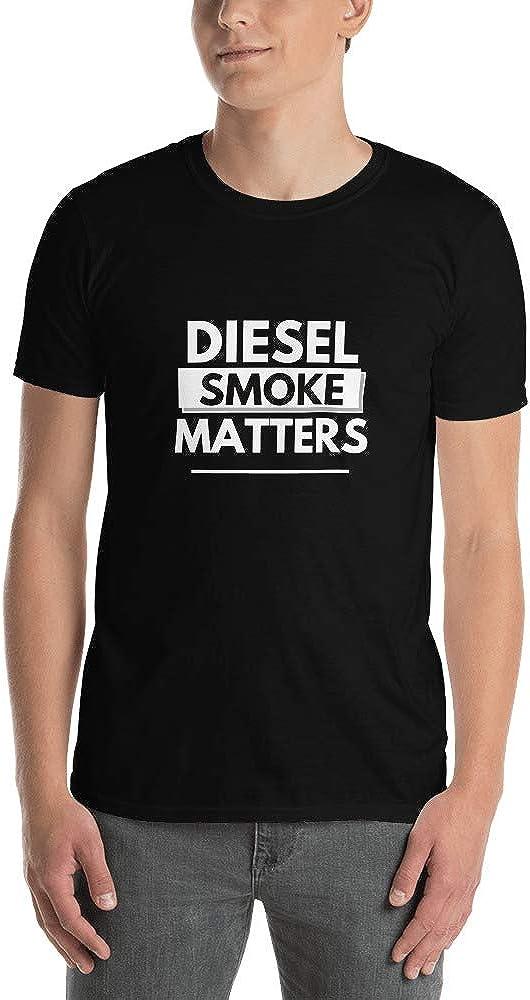 Diesel Smoke Matters T-Shirt/Black Diesel Smoke Shirt/Roll Coal/Diesel Truck Gift/Unique Tees.