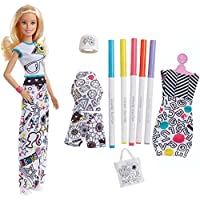 Barbie Crayola Color-in Fashions, Blonde