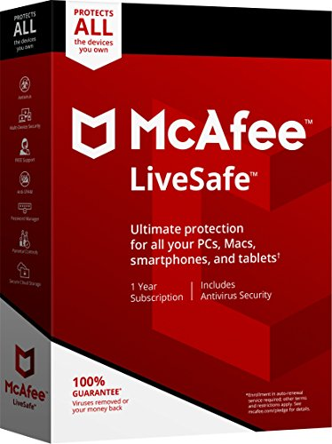 McAfee 2018 LiveSafe [OLD VERSION]