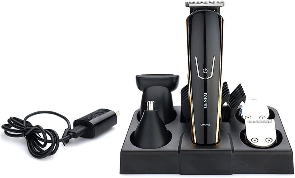 Guoyajf Hair Clippers Para Hombres Cordless Professional, Kit De Corte De Pelo Eléctrico Con Base De Carga, Batería Recargable De Iones De Litio Set Inalámbrico De Barba