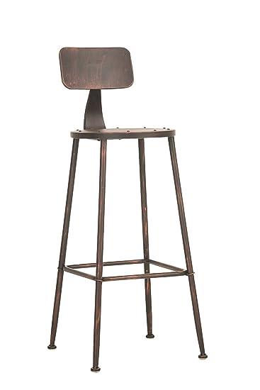 CLP Barhocker SOHO, Industrial Look, Metall, Sitzhöhe 75 cm ...