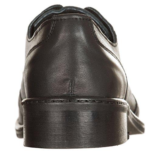 Ers negro mujer para VialeScarpe Piel 35 negro joyvtne negro Mocasines de 35 1qddAzOx