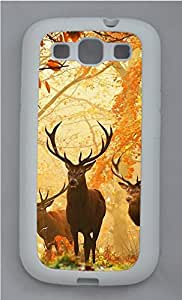 Samsung Galaxy S3 I9300 Cases & Covers - Forest Elf Elk Custom TPU Soft Case Cover Protector for Samsung Galaxy S3 I9300 - White