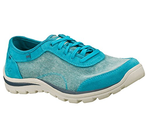 Skechers Heren Relaxed Fit Superieur Omaha Blauw