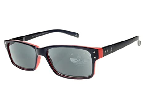5a8d305a8a Buy Atlantic Eyewear AE0050 Navy Blue and Orange Reading Glasses Sunglasses  Sunreaders for Men and Women with matching soft pouch (+2.00) Online at Low  ...
