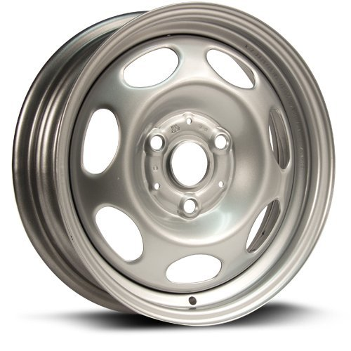 SMART Aftermarket FRONT wheel 15X4.5, 3X112, 57.1, +23, gray finish 7820 Smart Spare Tire