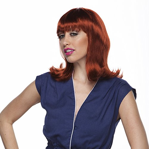 Auburn Peggy Sue Wig (Characters Peggy Sue Synthetic Wig Auburn)