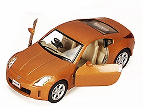 Nissan Fairlady 350Z, Orange - Kinsmart 5061D - 1/34 scale Diecast Model Toy Car (Brand New, but NO BOX)