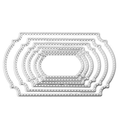 Big Promotion,DIY Paper Card,Noopvan Metal Die Cutting Dies Stencil for DIY Scrapbooking Album Paper Card Decor Craft]()