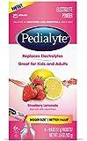 Pedialyte Large Powder Packs - Strawberry Lemonade - 6 ct