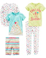Carter's Baby-Girl 5-Piece Cotton Snug-Fit...