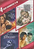 4 Film Favorites:Romantic Drama ( The Time Traveler's Wife,The Bodyguard,P.S. I Love You, the lake house)